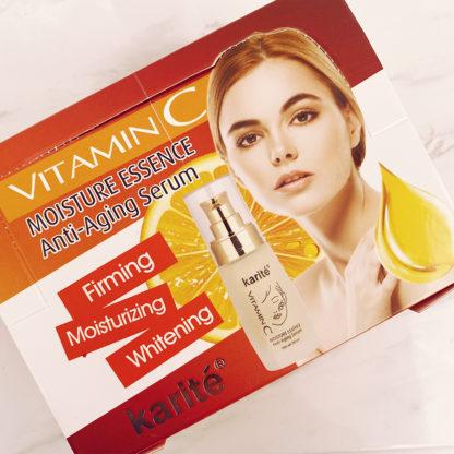 Primer con Vitamina C marca Karite perfecto para cuidar tu piel
